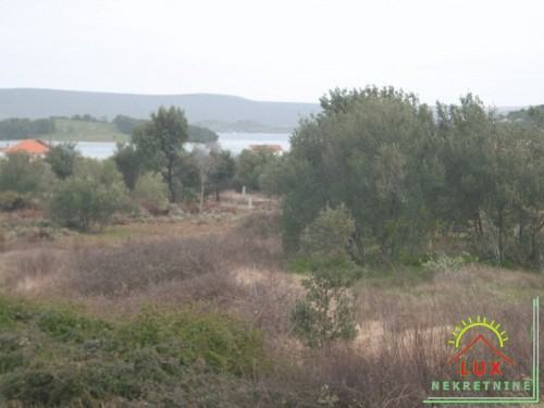 Građevinsko zemljište pov. oko 600 m2, Mrljane (otok Pašman)